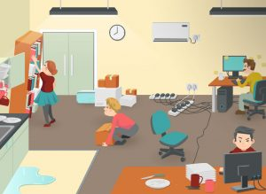 A Few Office Safety Hazards That You May Not Have Thought About