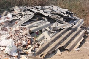 Dealing with asbestos waste
