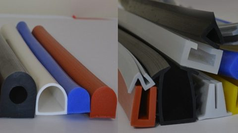 Different Use of U-Shape Edge Trim and D-Shape Rubber Seal
